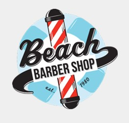 beach barber logo